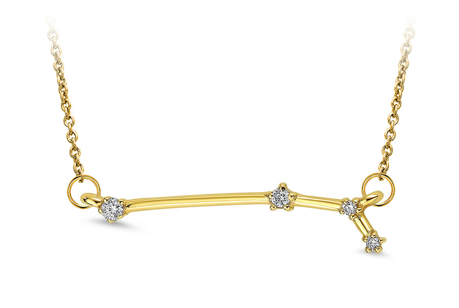 14kt Yellow Gold/Aries/top