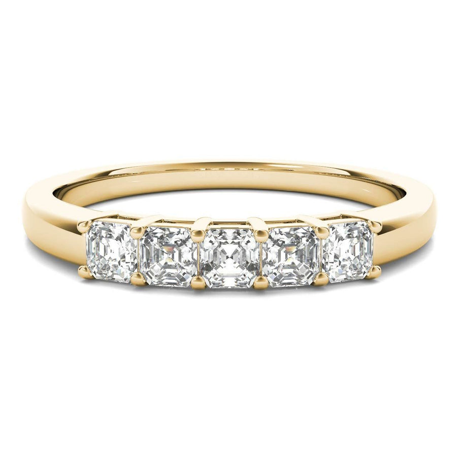 18kt Yellow Gold/0.50 CTW/top
