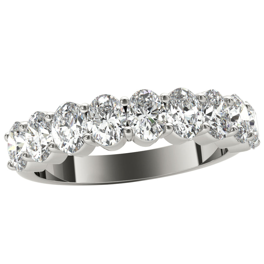 18kt White Gold/1.00 CTW/top