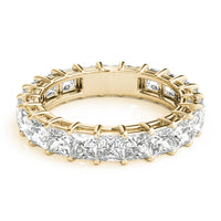 18kt Yellow Gold/3.71 CTW/top