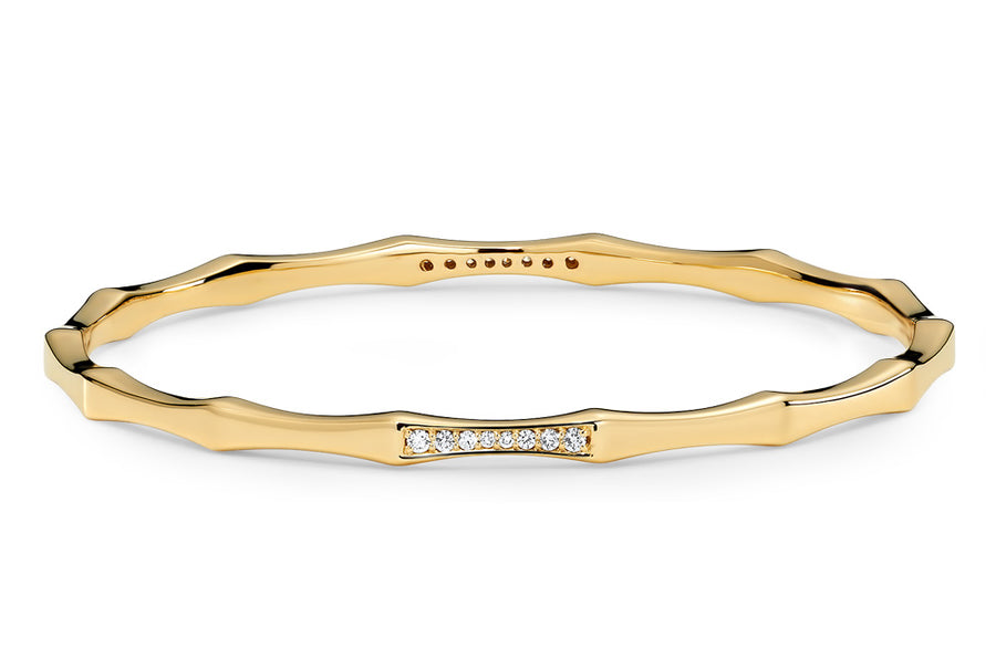 14kt Yellow Gold/Diamond/top