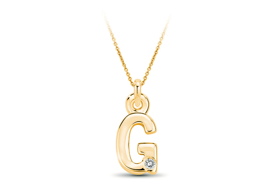 14kt Yellow Gold/G/top