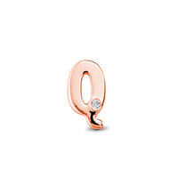 18kt Rose Gold/Q/top
