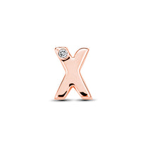 18kt Rose Gold/X/top