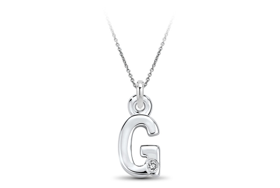 14kt White Gold/G/top