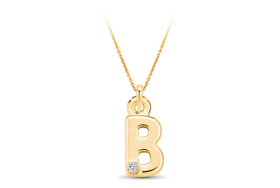14kt Yellow Gold/B/top