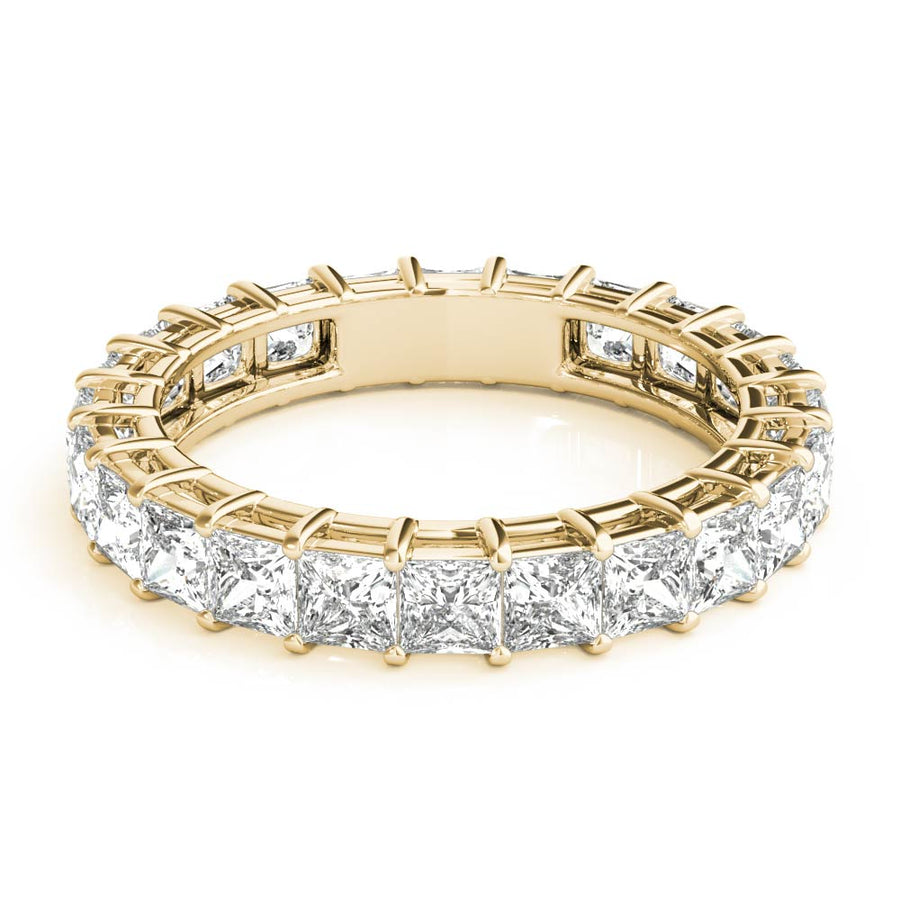 18kt Yellow Gold/2.77 CTW/top
