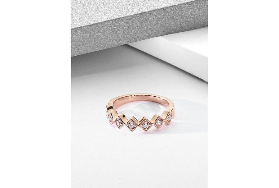14kt Rose Gold/top