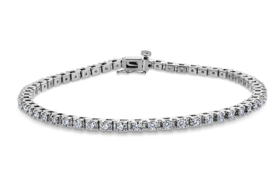 14kt White Gold/3.00 CTW/top