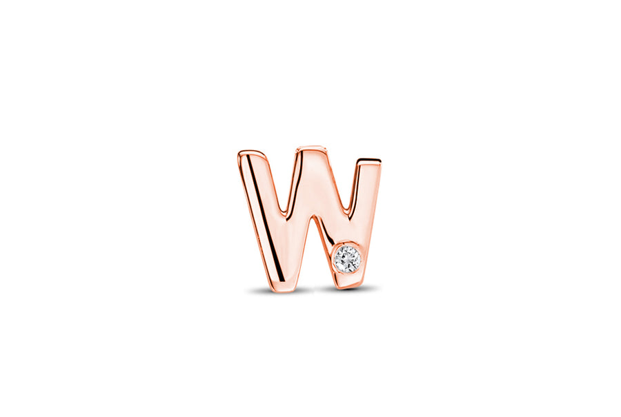 18kt Rose Gold/W/top