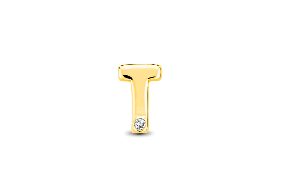 14kt Yellow Gold/T/top