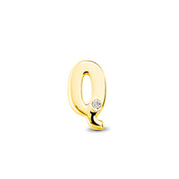 14kt Yellow Gold/Q/top