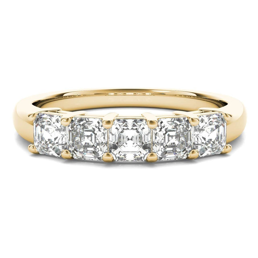 18kt Yellow Gold/1.00 CTW/top