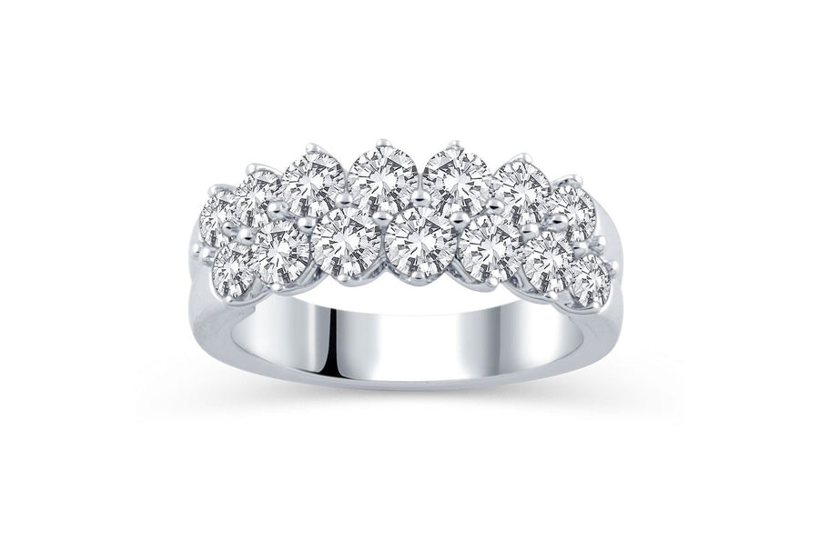 14kt White Gold/top