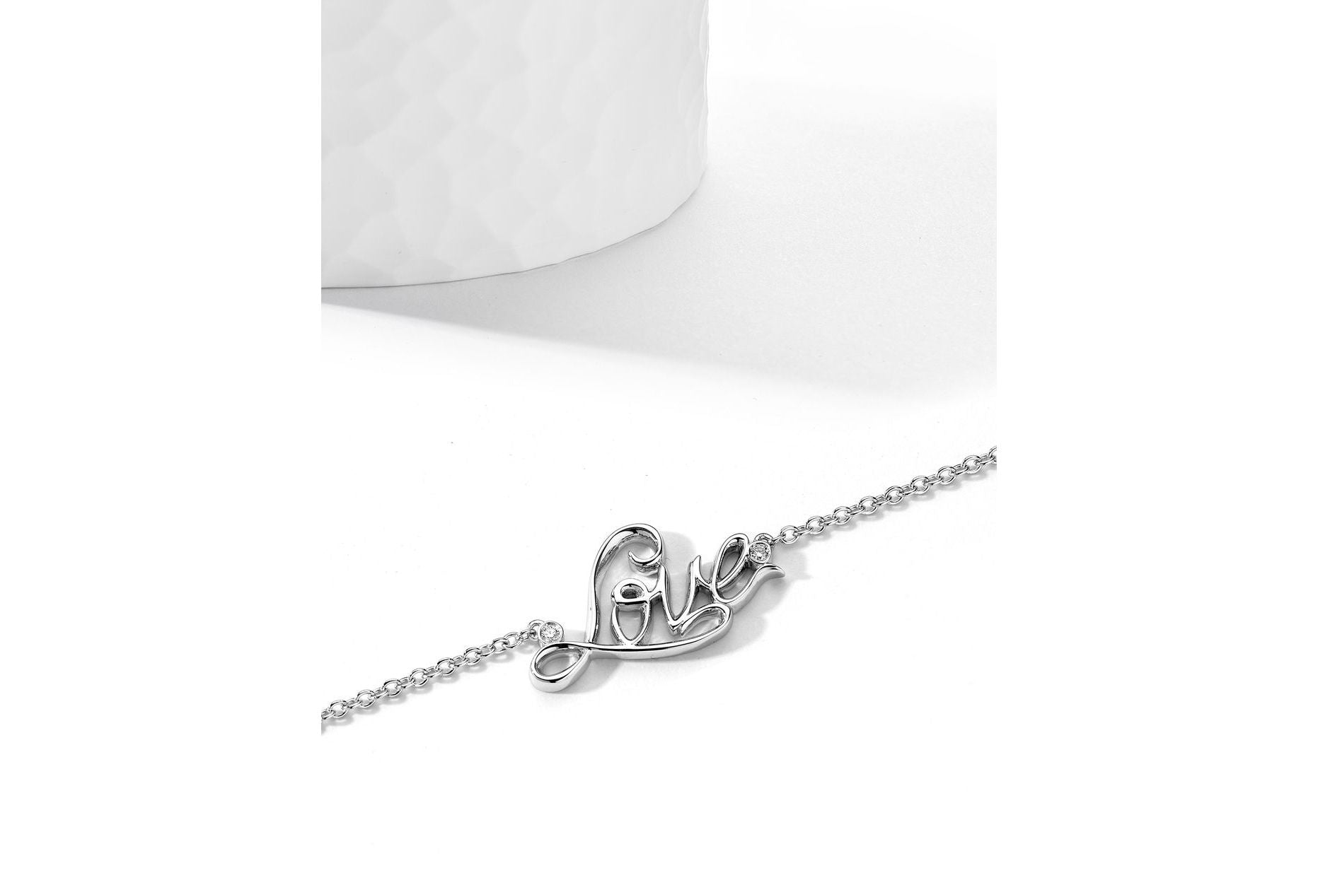 Scripts Collection Diamond Necklace