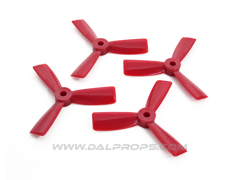 "3047 BN 3"" Tri-Blade Bullnose (Red)"