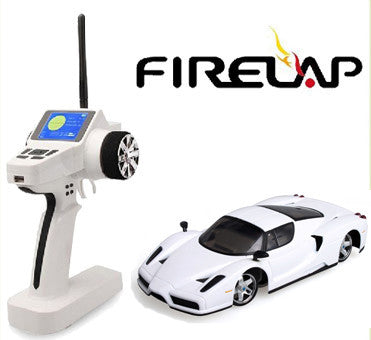 Firelap 1/28 4wd mini z car with TG04C Radio  Ferrari enzo 5 yallow ,5 White