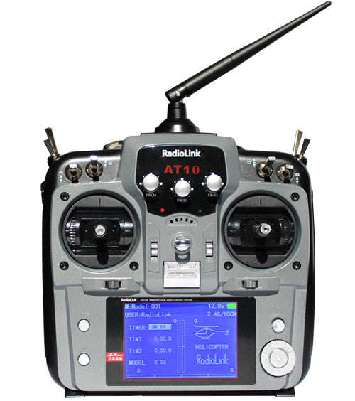 AT10II DS-PRM-01 10CH Transmitter & Rx