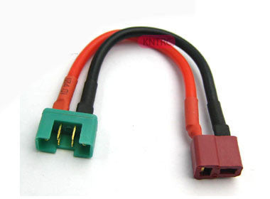 Male MPX to female deans 12awg 5cm