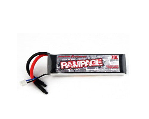 2250mAh 3-Cell/3S 11.1V 70c Rampage