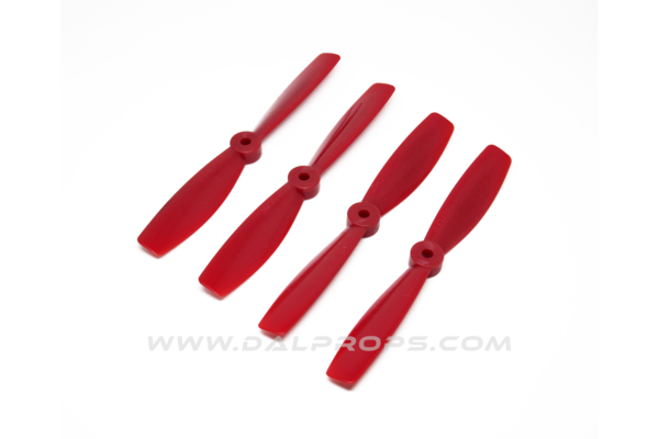 "6045 BN 6"" Two Blade Bullnose (Red)"