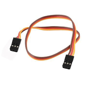 30cm JR 22AWG Straight Extension Wire(2 Males)