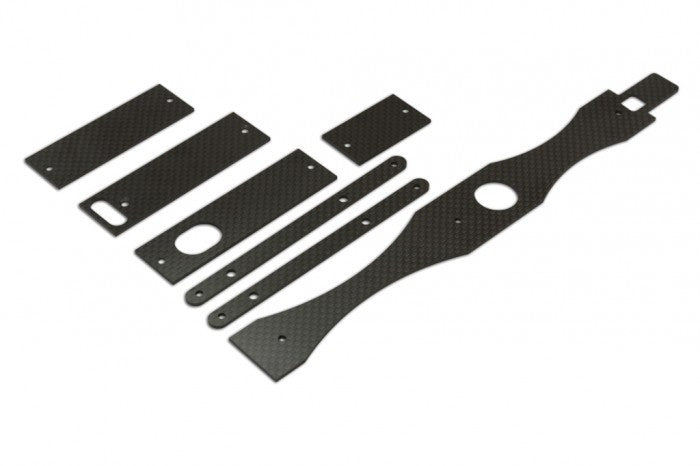 NX4 CF Mounts For Electronics And Stiffener Set (1.6mm)