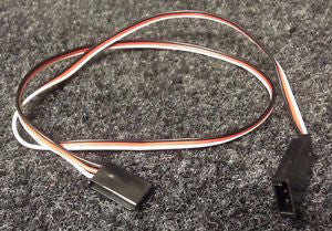 45cm Futaba 22AWG Straight Extension Wire