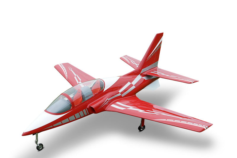 Viper Jet 2,0 m full composite kit painted type C dark red