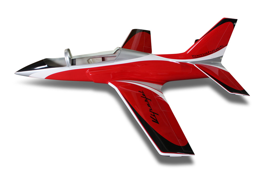 Viper Jet 2,0 m full composite kit painted type B red