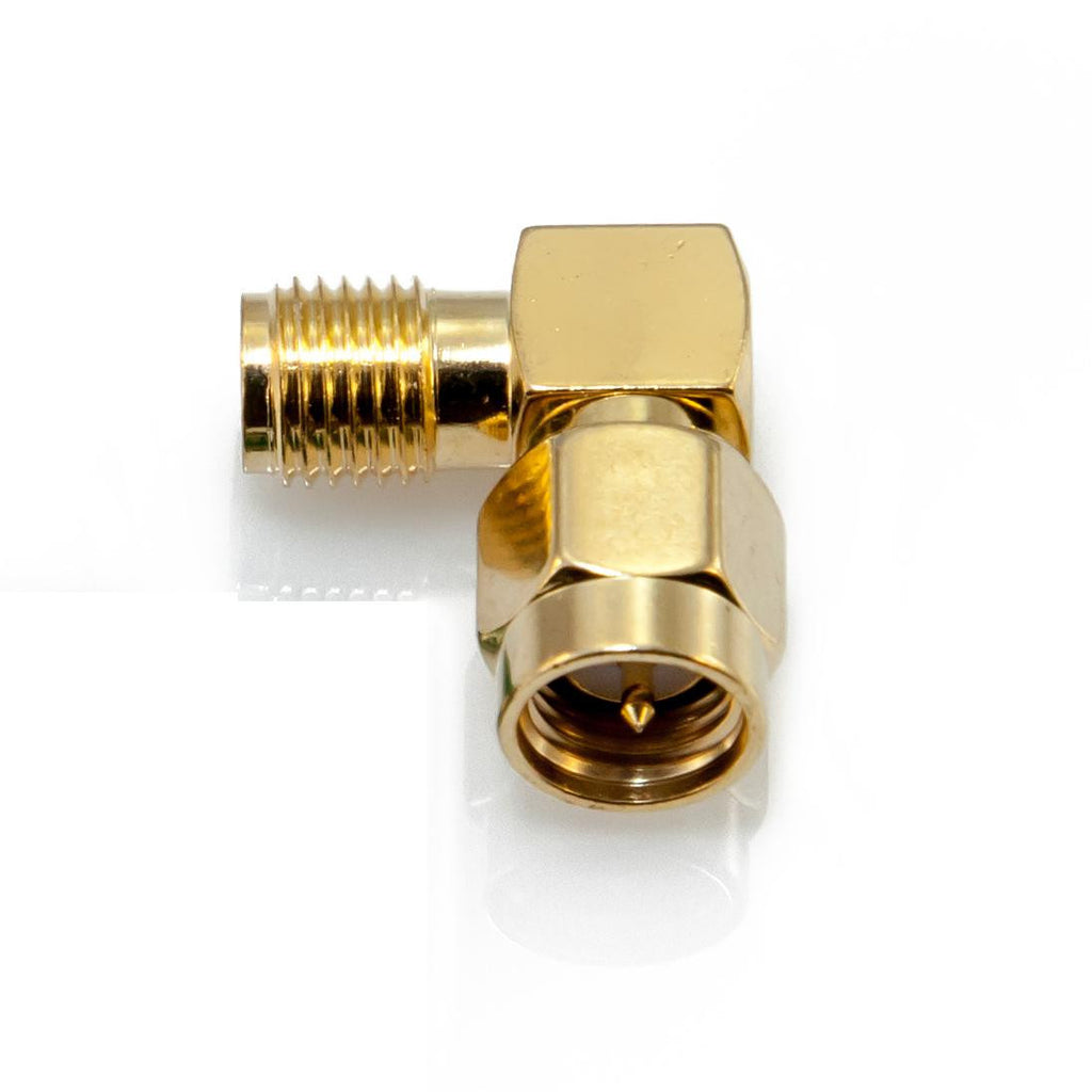 90 Degrees Male To Female SMA Connector