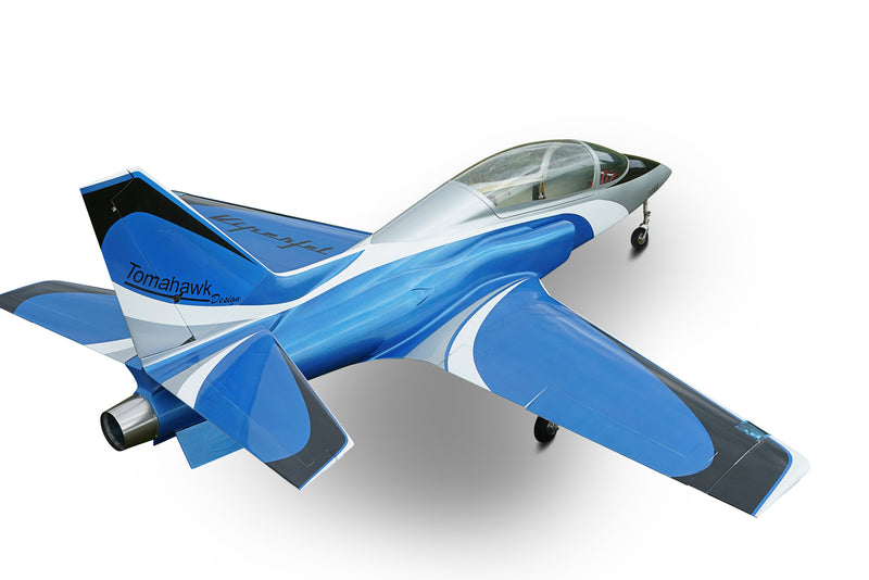 Viper Jet 2,0 m full composite kit painted type B blue