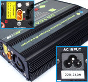 1-6C AC/DC Double Charger(100w X 2)