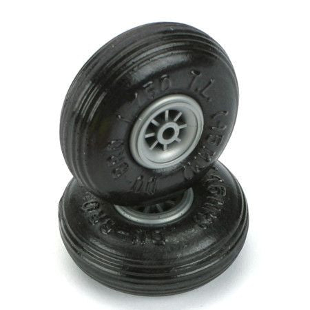 Treaded Lite Wheels (2), 1-3/4""