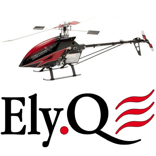 ElyQ Vision 50 Heli Kit - Painted canopy