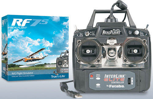 RealFlight 7.5 With Interlink Transmitter