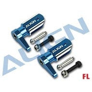 450FL Main Rotor Holder Set/Blue