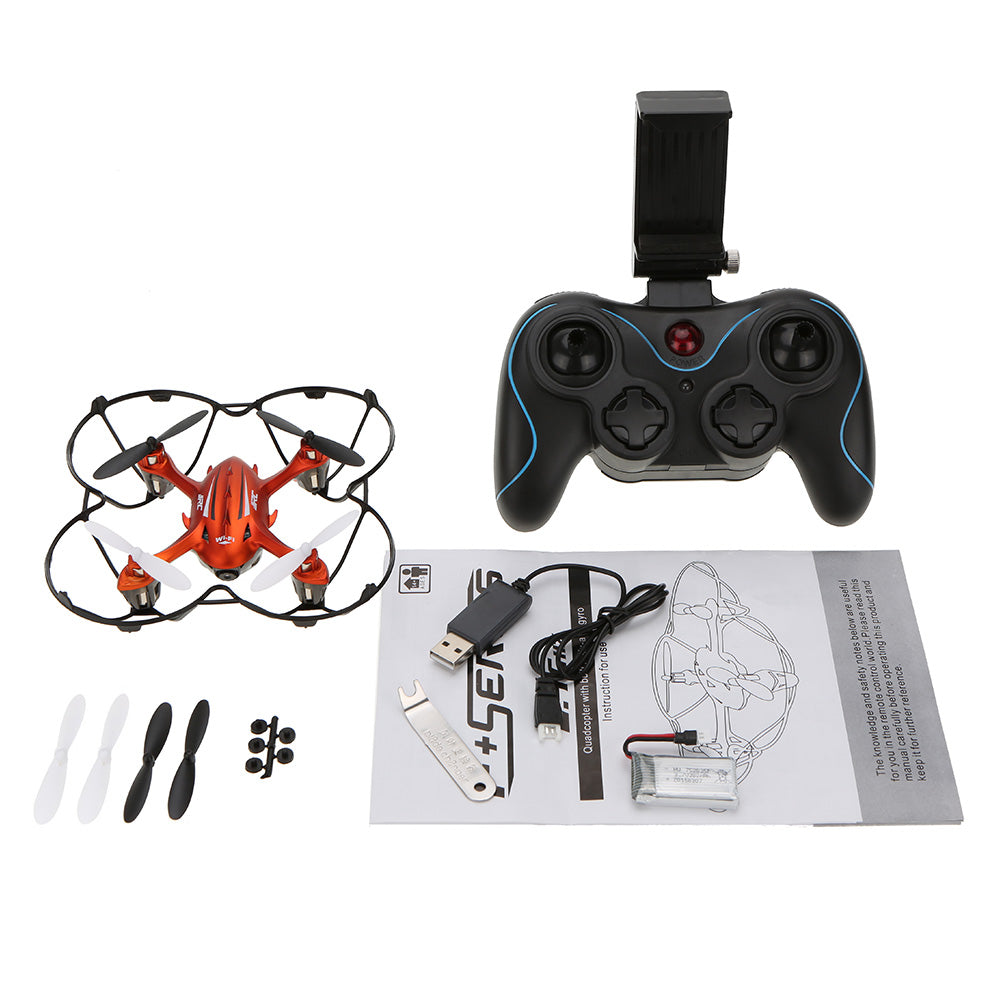 H6W WiFi FPV With 2MP Camera Headless Mode One Key Return RC Quadcopter