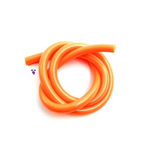 Silicone 50' Fuel Tubing, Orange, one Meter