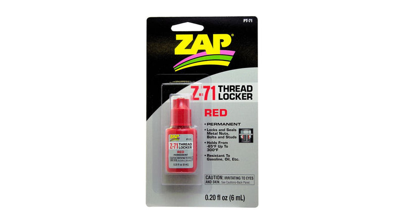 Z-71 Red Thread Lock, .20oz