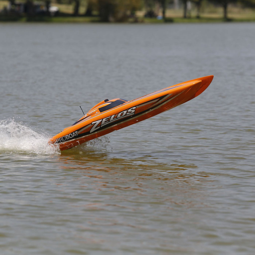 Zelos 48-inch Brushless Catamaran RTR