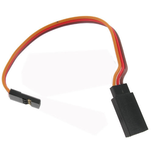 10cm JR 22AWG Straight Extension Wire