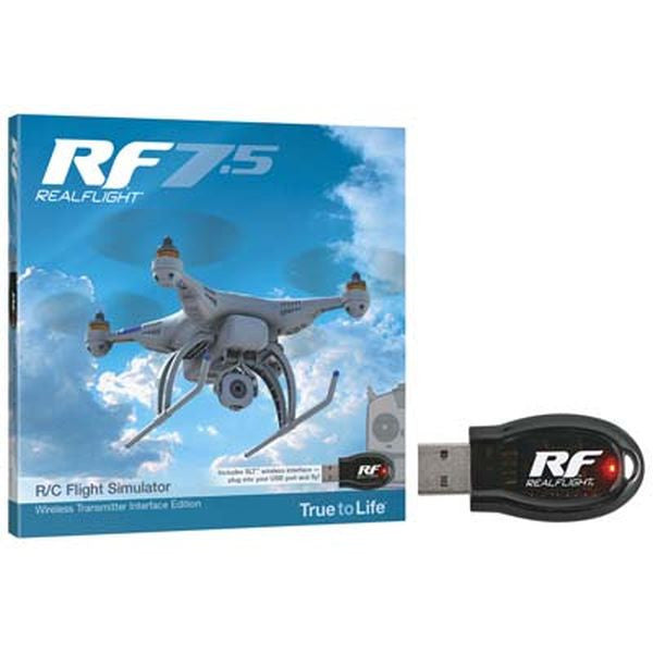 RF7.5RealFlight R/C -  Wireless SLT™ Transmitter Interface Edition
