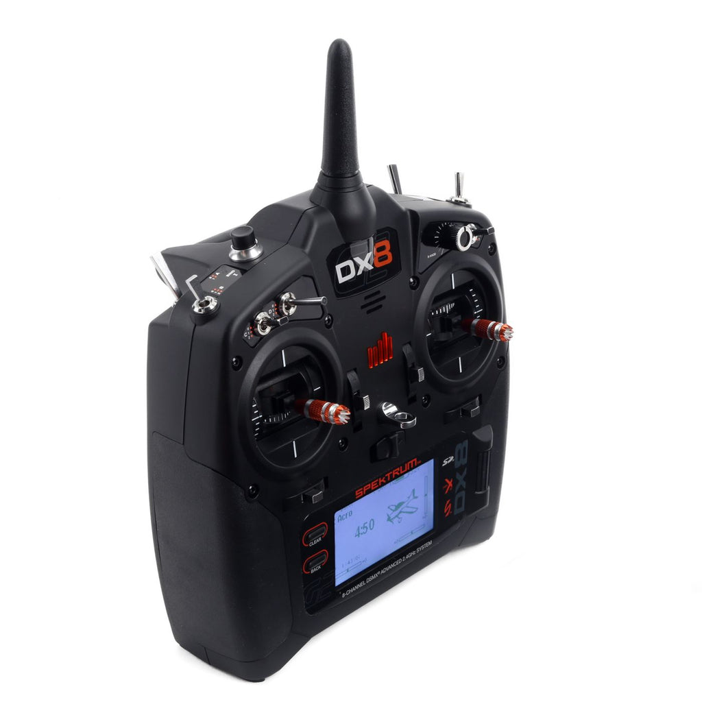 DX8 8-Channel DSMX Transmitter Gen 2 with AR8010T, Mode 2