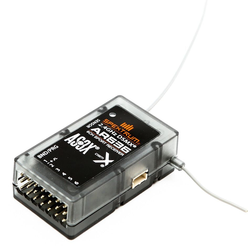 AR636 6-Channel AS3X® Sport Receiver