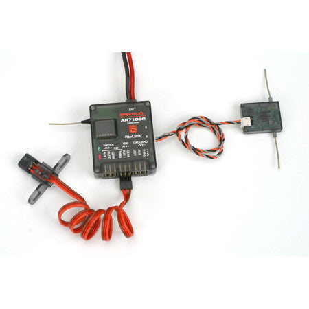 AR7100R 7 Channel DSM2 Heli Receiver w/RevLimit