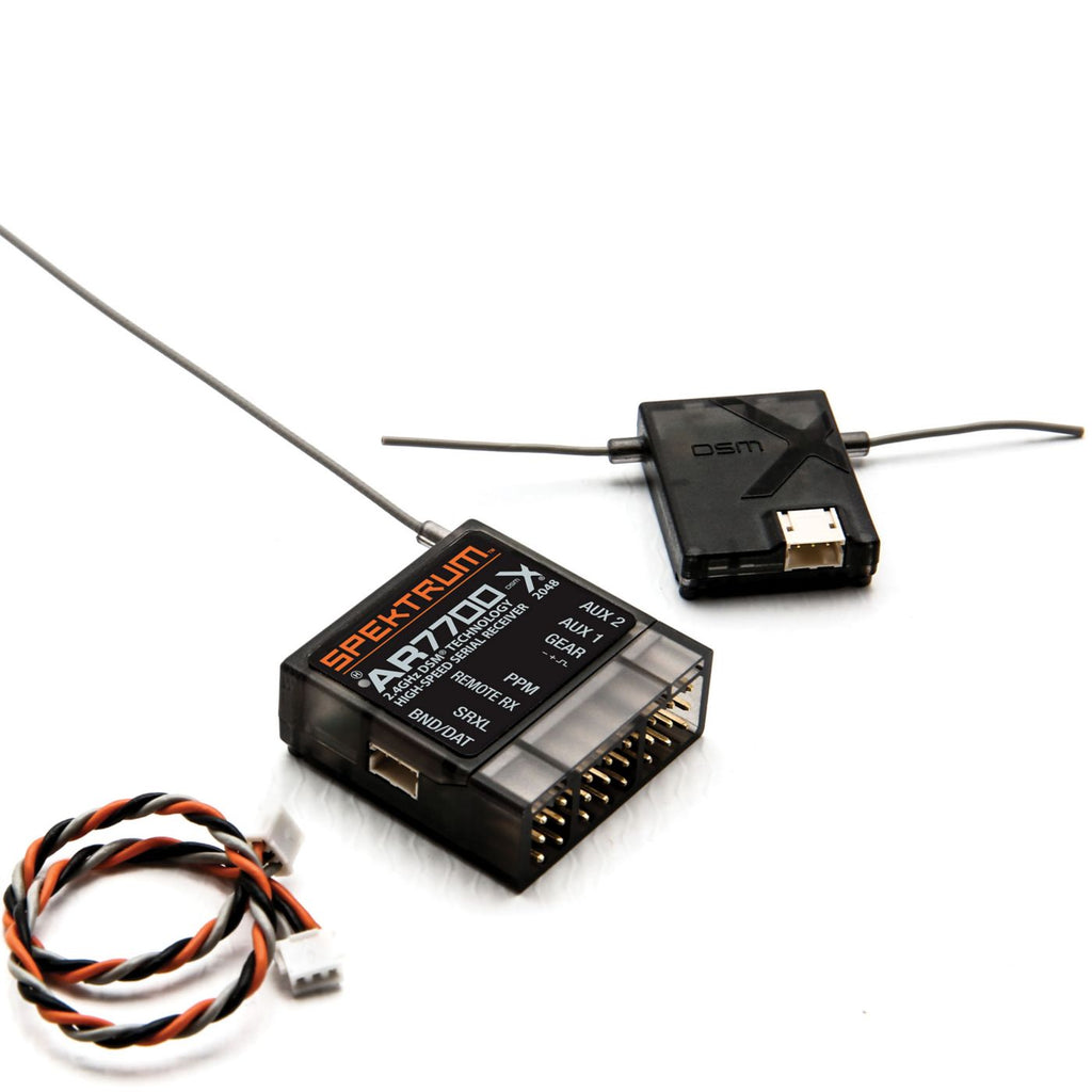 AR7700 Serial Receiver with PPM/SRXL/Remote Receiver Output