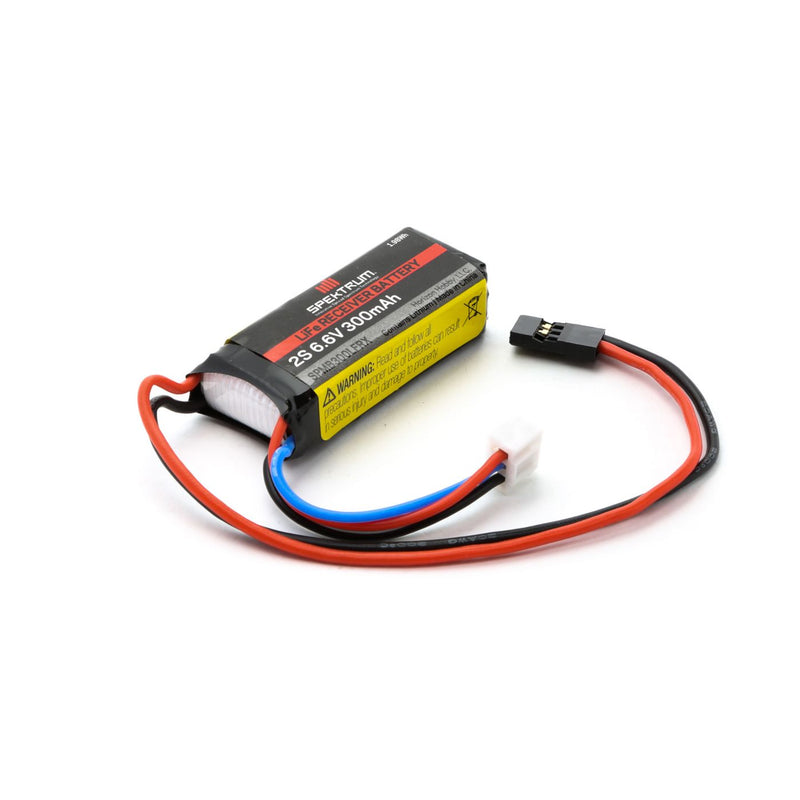 300mAh 2S 6.6V LiFe Receiver Battery