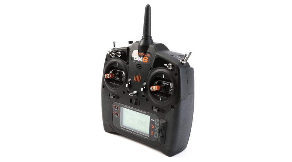 DX6 6-Channel DSMX® Transmitter Only, Mode 2