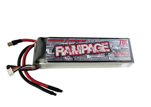 5000mAh 3-Cell/3S 11.1V 70c Rampage